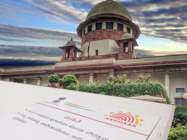 5-judge bench of the Apex court ruled 4-1 to uphold constitutional validity of Aadhaar with a caveat that it wasn't mandatory to obtain sim card or bank accounts