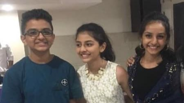 Sharron Naik (14), Joy Naik (15) and Aaron Naik (17) were killed in the fire at a home in Tennessee.