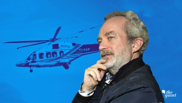 Christian Michel is one of the alleged middlemen in the AugustaWestland VVIP Chopper case.
