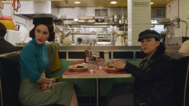 A still from <i>The Marvelous Mrs. Maisel</i> Season 2.