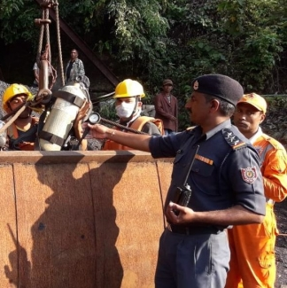 "On 13 December, 17 miners were trapped in a flooded ""rat-hole"" mine in Meghalaya's East Jaintia Hills district."