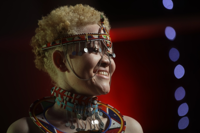 """People with albinism are people like any other, and for sure we are also beautiful,"" Event Organizer Isaac Mwaura said."