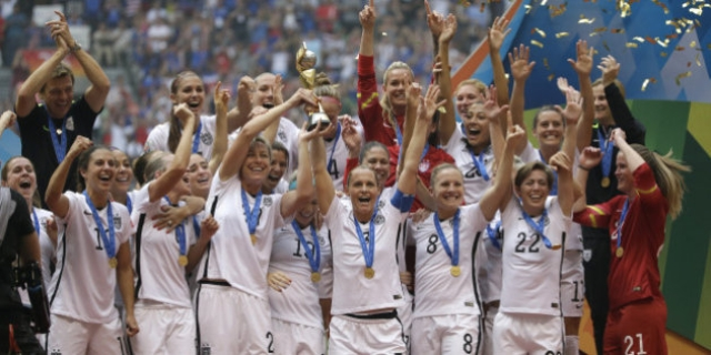 The entire 2015 FIFA Women's World Cup, won by the USA, was played on artificial turfs in Canada.