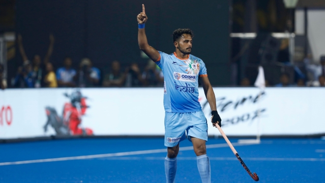 Harmanpreet Singh scored the equaliser for India in the 39th minute after he converted a penalty stroke.