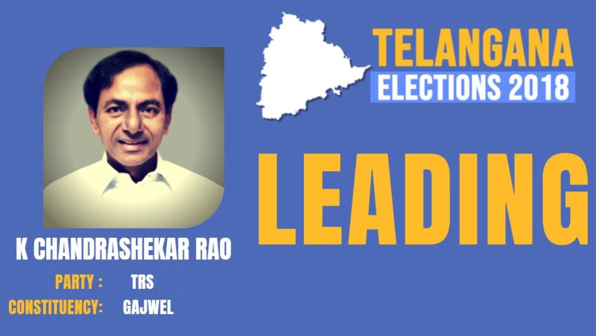 Telangana Elections 2018 LIVE: K Chandrasekhar Rao Takes