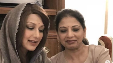 Sonali Bendre thanks sister for supporting her.