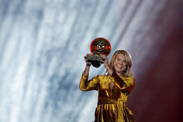 62 years after its inaugural edition, Norweigan Ada Hegerberg became the first female recipient of the coveted Ballon d'Or.