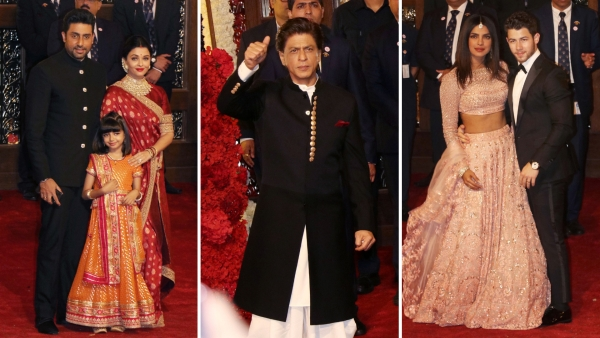 Pics: DeepVeer, NickYanka, Bachchans & More  at Ambani Wedding