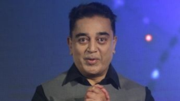 Kamal Haasan is presently touring Trichy and conducting a public meeting.