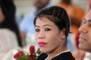 Boxer M.C. Mary Kom. (Photo: IANS)