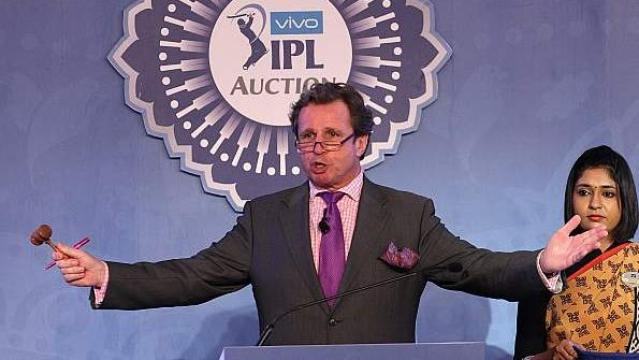 Auctioneer Richard Madley has been part of all IPL auctions since its inception in 2008