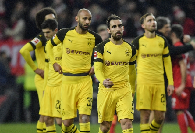Borussia Dortmund's shock defeat to struggling Fortuna on 18 December was their first loss in the Bundesliga this season.
