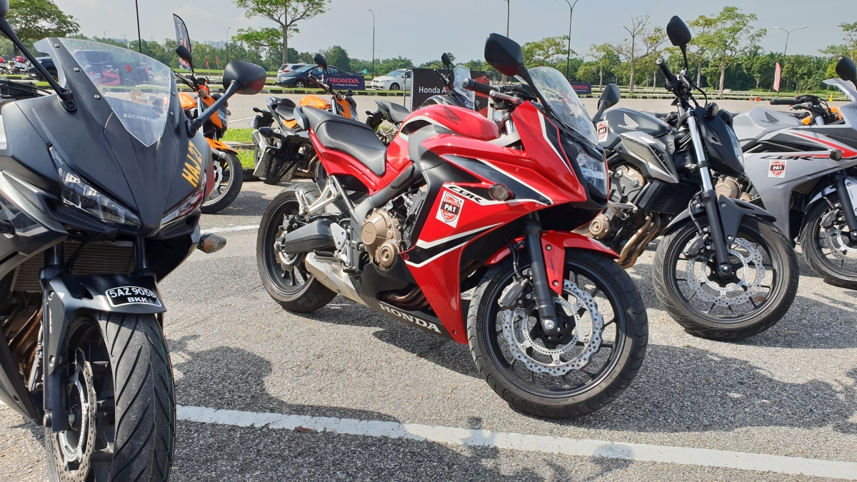 Riding Big Honda Bikes In Malaysia