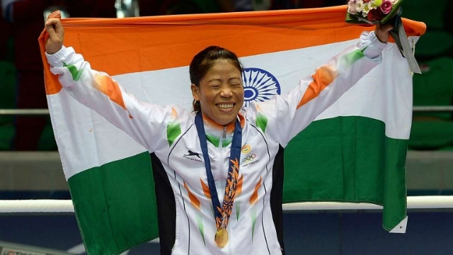 MC Mary kom creates record and becomes six-time world champion