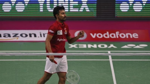 File photo of Indian badminton player and world number 14 Sameer Verma.