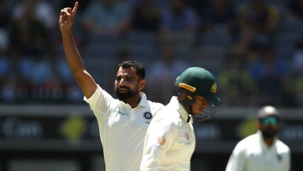 Mohammed Shami returned career-best figures of 6/56 on Day 4 of the Perth Test between Australia and India.