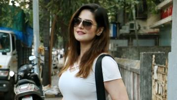 Actor Zareen Khan.