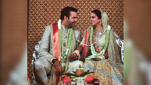 Ambani-Piramal Wedding: First Pics of the Newly-Weds Are Here