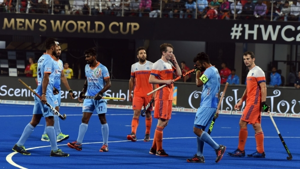 India went down 2-1 to Netherlands in the quarter-final of the 2018 FIH Men's Hockey World Cup.