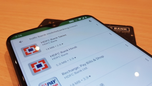 HDFC has pulled its mobile banking app off the Android Play Store.