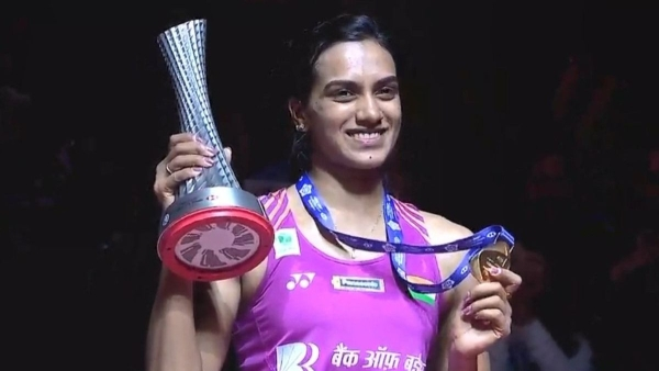PV Sindhu beat Nozomi Okuhara to become the first Indian to win a BWF season-ending title at the BWF World Tour Finals 2018.