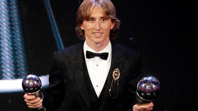 Luka Modric was named the 2018 FIFA Male Player of the Year.