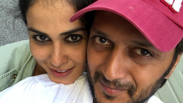 Genelia Wishes Riteish on His Birthday in The Cutest Way Possible