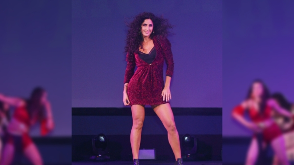 Katrina Kaif performs at the launch of 'Husn Parcham'.