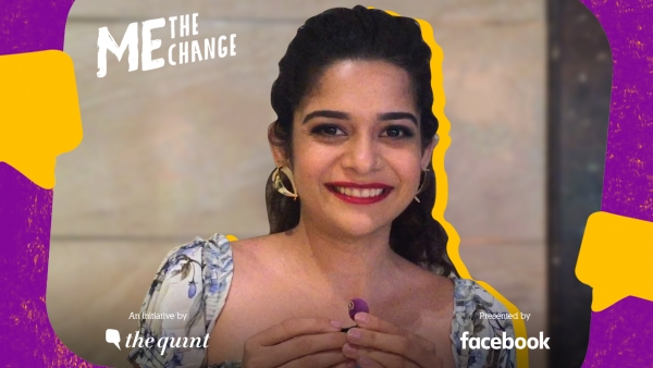 Actress Mithila Palkar speaks on The Quint's 'Me, The Change' campaign.