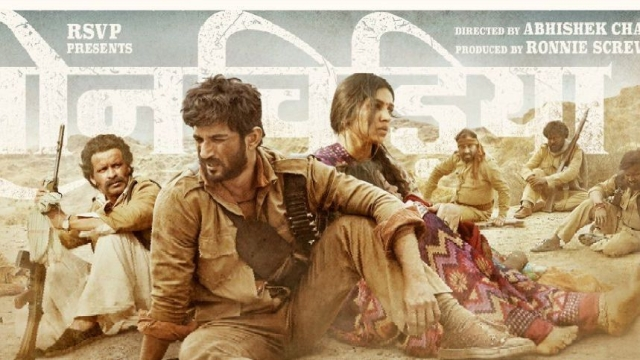 A poster of <i>Sonchiriya</i>.