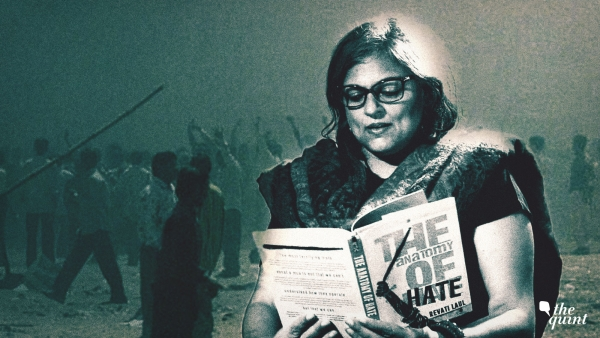Image of author Revati Laul with her book, used for representational purposes.