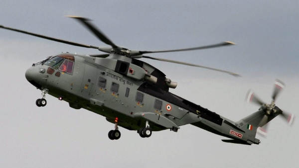 File photo of AgustaWestland helicopter.