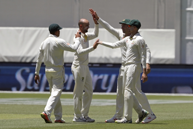 Nathan Lyon finished with figures of 53.5-10-106-8 in the second Test.