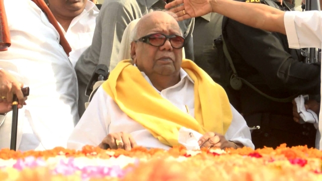Karunanidhi passed away on 7 August 2018 at the age of 94