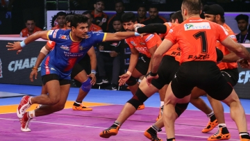 UP Yoddha Beat U Mumba 34-29 in Pro Kabaddi League.