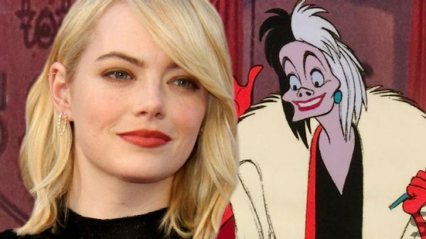 Emma Stone is set to play Cruella in a Disney production.