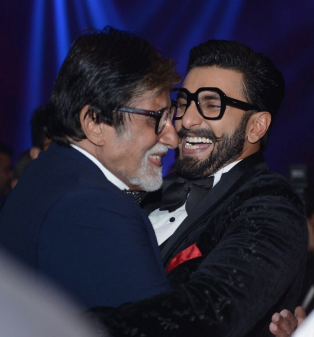 Inside pictures from the Ranveer Singh - Deepika Padukone wedding reception in Mumbai.