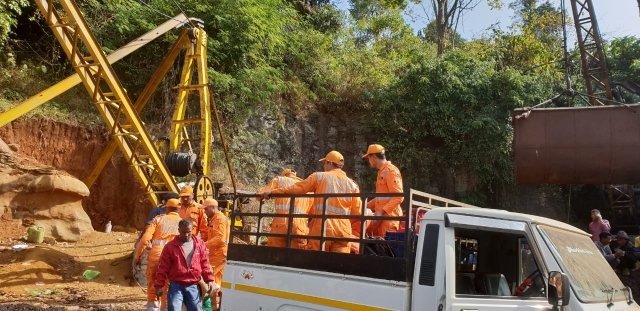 Two teams of the National Disaster Response Force (NDRF) consisting of over 60 personnel reached on Friday morning.