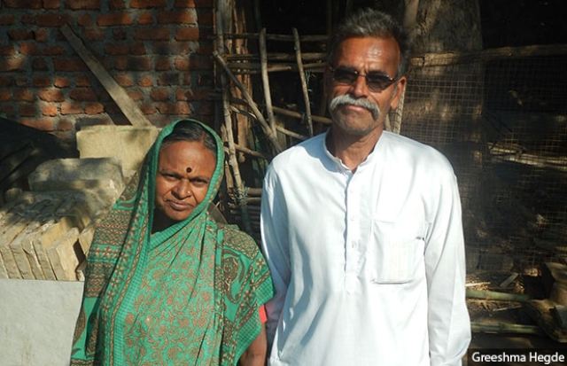 The couple have set up their own self-help group to sell produce such as pulses.