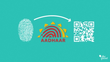UIDAI is pushing for QR Code based verification to move away from biometric authentication