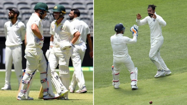Aaron Finch and Marcus Harris shared the series' first 100-run stand, while Hanuma Vihari was India's surprise star with the ball on Day 1 at Perth.