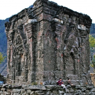Sharada Peeth – a temple of Goddess Sharada – was one of the three principal shrines of J&K before the Partition.
