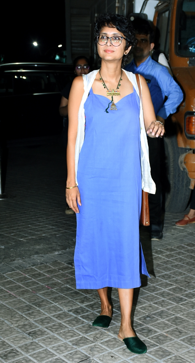 Kiran Rao at the venue.