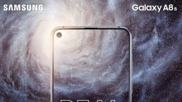 The Samsung Galaxy A8s will launch on 10 December in China. It will be the first phone to have a punch hole camera.