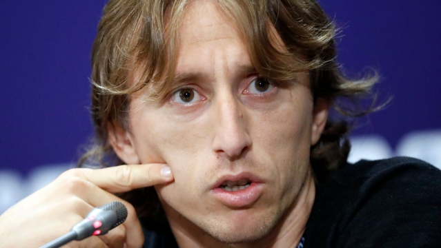 File photo of Croatia's Luka Modric.