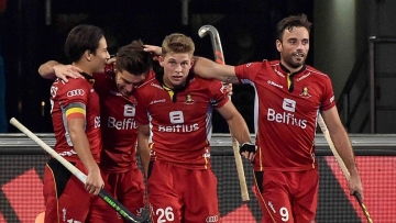 Olympic silver medallist Belgium created history by reaching their maiden final of men's hockey World Cup.