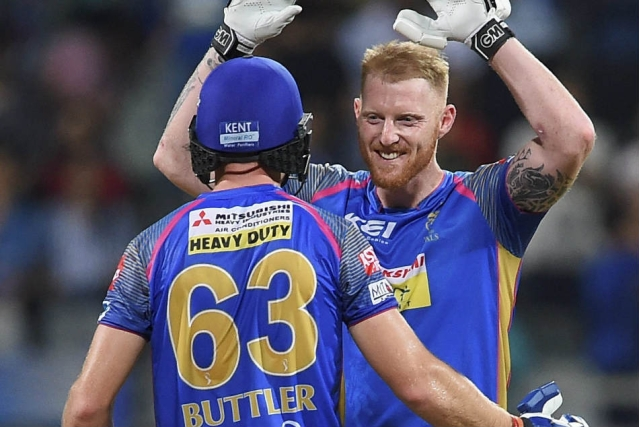 Jos Buttler and Ben Stokes will be unavailable for Rajasthan Royals after 25 April, which means they will miss nearly half of IPL 2019.
