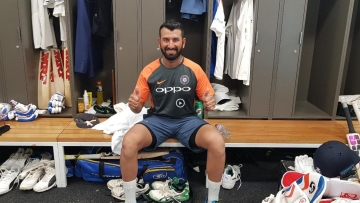 Pujara scored his 16th Test century on Thursday in Adelaide against Australia