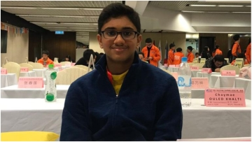 Dhruv Manoj has bagged two gold medals at the World Memory Championships that was held in Hong Kong.