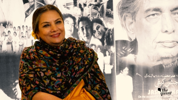 """Kaifi, and other progressive writers were like the foot soldiers who felt the need to reach out to the masses like a leader"", says Shabana Azmi."